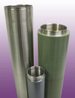 Cylindrical Target Tubes